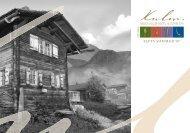 ALPIN SPA EINTAUCHEN UND GENIESSEN - Swiss Deluxe Hotels