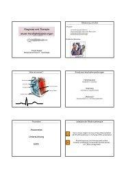Diagnose und Therapie akuter Herzhythmusstörungen ... - FINeST