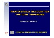 SC Professional Recognition & Mobility - European Council of Civil ...