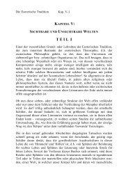 Kapitel V Sichtbare und Unsichtbare Welten I Seite 012-013