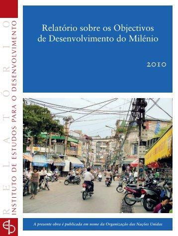 Relatório sobre os Objectivos de Desenvolvimento do Milénio 2010