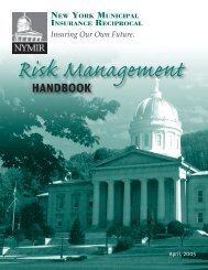 Risk Management Manual.indd - NYMIR