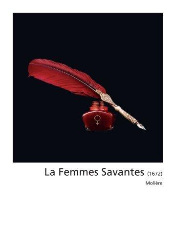 La Femmes Savantes (1672) - RTL.lu