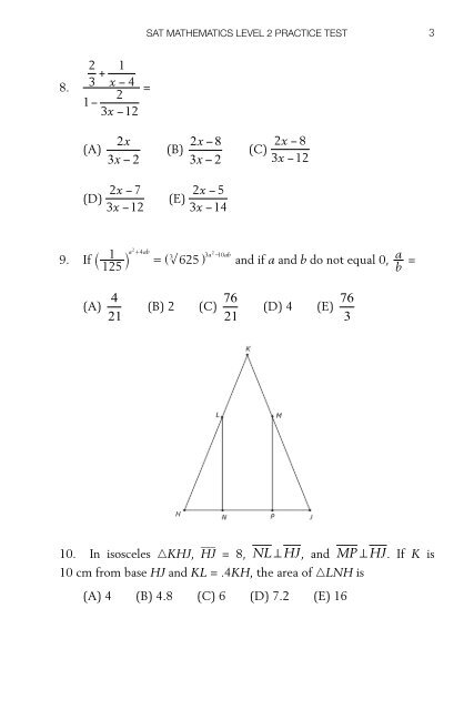 Sat 7 Test