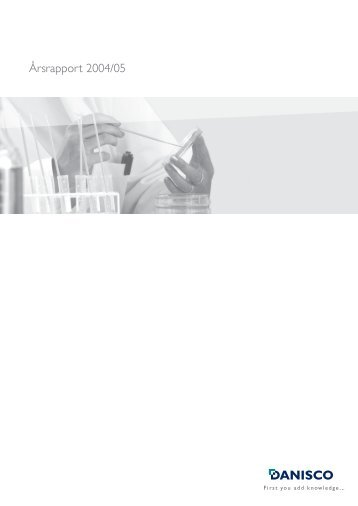Årsrapport 2004/05 - IWP Finans