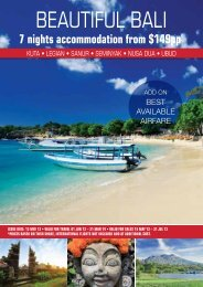 BEAUTIFUL BALI - Searle Travel