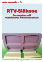 RTV-Silikone - Suter Swiss-Composite Group