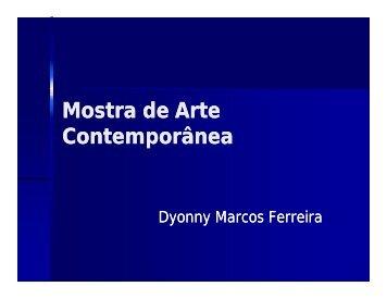 Mostra de Arte Contemporânea