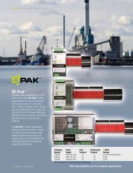 Download Emphatec DC Plus Power Supply Specifications (PDF)