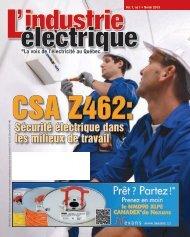Sécurité électrique dans les milieux de travail - Electrical Business ...