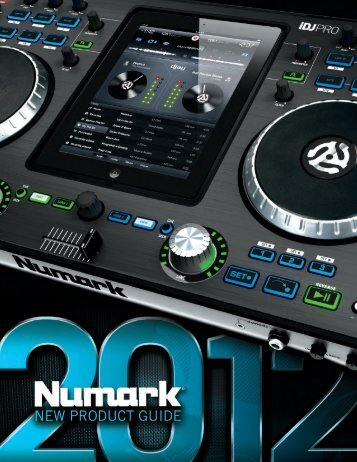 2012 New Product Guide - Numark