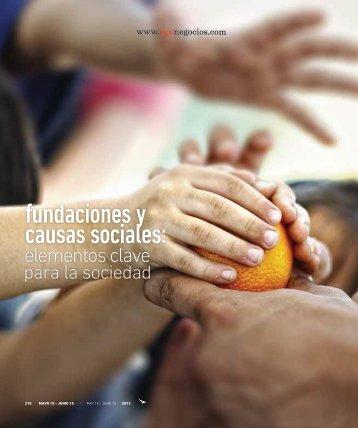 fundaciones y causas sociales: - Abordo.com.ec