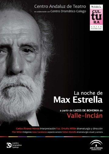 Dossier Max Estrella - Junta de Andalucía