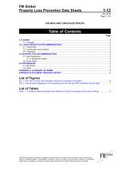 DS 1-12 Ceilings and Concealed Spaces (Data Sheet) - FM Global
