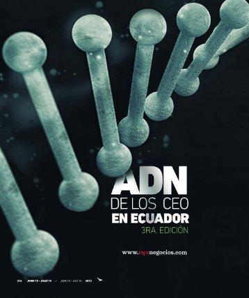 ADN de los CEO en Ecuador 3ra. edición - Abordo.com.ec