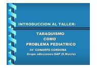 tabaquismo como problema pediatrico