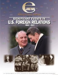 Significant Events in U.S#92B13 - Embassy of the United States