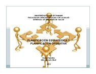 planificación estratégica y planificacion operativa - Universidad ...