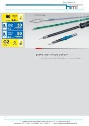 Starre und flexible Sonden - Handke Medizintechnik