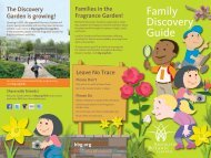 Download BBG's Family Discovery Guide - Brooklyn Botanic Garden