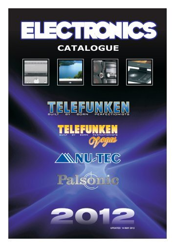 TELEFUNKEN CATALOGUE 2012