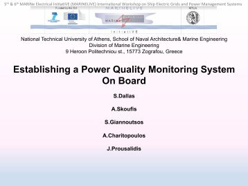 Power Quality Optimization through Monitoring & Recording