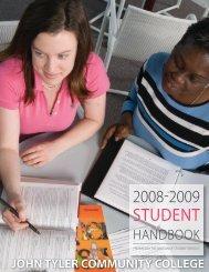 student conduct code - John Tyler Community College