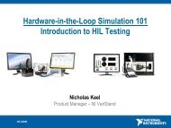 Hardware-in-the-Loop Simulation 101 Introduction to HIL ... - ASAM