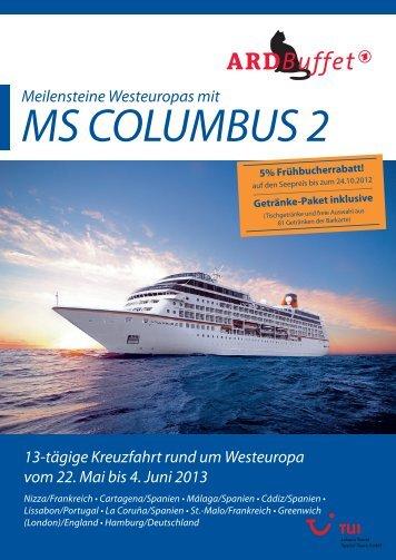 MS COLUMBUS 2 - SWR-Shop