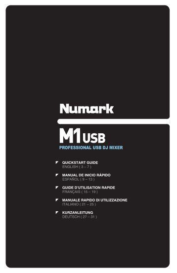 PROFESSIONAL USB DJ MIXER - Numark