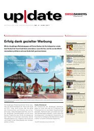 Erfolg dank gezielter Werbung - Swiss Bankers Prepaid Services