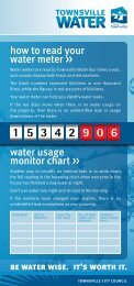 how to read your water meter >> water usage monitor chart >>