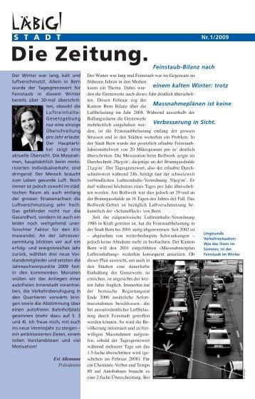 Die Zeitung herunterladen (PDF) - Läbigi Stadt