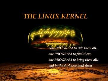 GNU|Linux Kernel basis, the slides