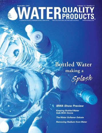 Bottled Water Bottled Water - Water Quality Products