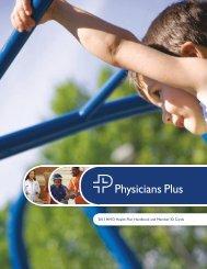 2013 HMO Health Plan Handbook and Member ID ... - Physicians Plus