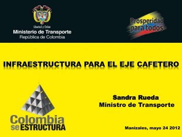 Sandra Rueda - Mintransporte - ANIF