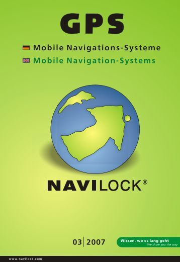 Mobile Navigations-Systeme Mobile Navigation-Systems - SWS