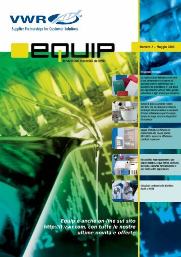Sommario - VWR-International GmbH