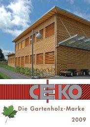 Ceko Gartenholz - Nutzholz May