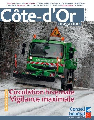 Télécharger Côte-d'Or magazine N°127 - Décembre 2012 en PDF