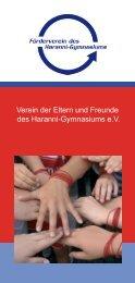 Flyer - Haranni-Gymnasium Herne