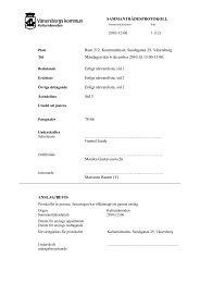Kulturnämnden 2010-12-06.pdf - Vänersborgs kommun