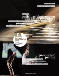 Memoria de actividade da AGADIC 2008 - Centro Dramático Galego