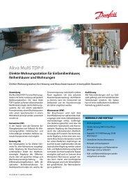 Akva Multi TDP-F - Fernwärme-Komponenten - Danfoss GmbH