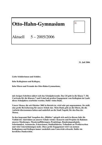 5 - Otto-Hahn-Gymnasium
