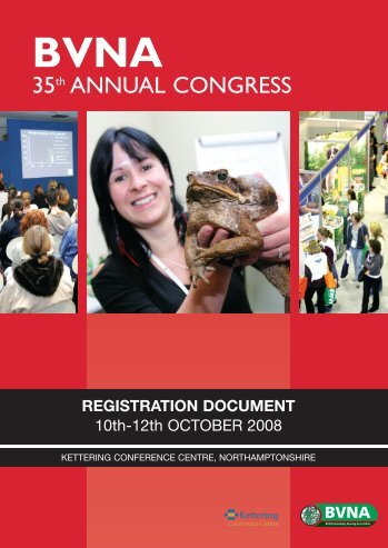 35th ANNUAL CONGRESS - British Veterinary Nursing Association