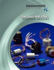 Download PDF - Spectrum Sensors & Controls