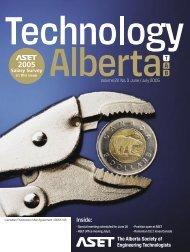 Technology Alberta june-july.05 - ASET