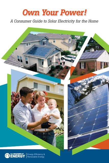 Own Your Power! A Consumer Guide to Solar Electricity for the - NREL